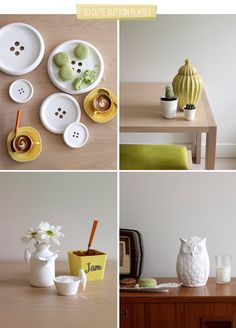 "Cute Home Accessories by ""Have you met Miss Jones"" ♥ Симпатични аксесоари за дома | 79 Ideas"