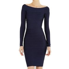 Navy blue off the shoulder long sleeve bandage dress sale Long Sleeve Bandage Dress, Bodycon Dress, Bandage Dresses, Dresses For Sale, Dress Sale, Dresses 2016, Herve Leger Dress, Blue Dresses, Formal Dresses