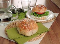 Pão de hambúrguer integral