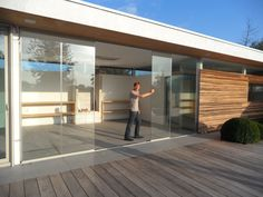 Project 35 #glazenschuifwanden #architecture #glazenafsluiting #SlidingGlass #poolhouse