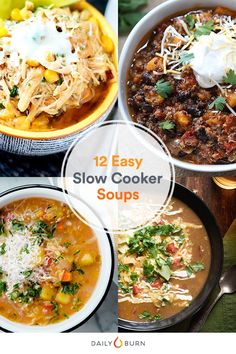 Soup's Up! 12 Insanely Easy Crock-Pot Recipes