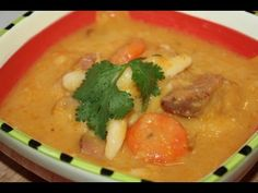 Authentic How To Make Caribbean Ham Bone Soup., ,