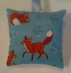 Fox Gift / Fox Fabric Lavender Bag / Christmas Gift / Stocking Filler Handmade in Home, Furniture & DIY, Home Decor, Other Home Decor | eBay