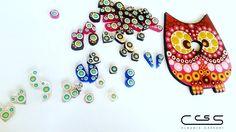Nuevos minizarcillos para las niñas de la casa en tonos pasteles #ClaudiaCassani