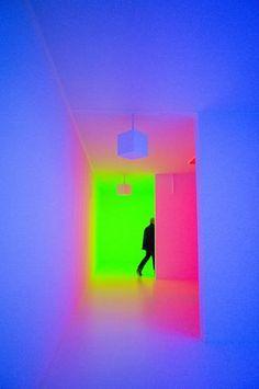 neon corridor
