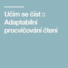 Učím se číst :: Adaptabilní procvičování čtení