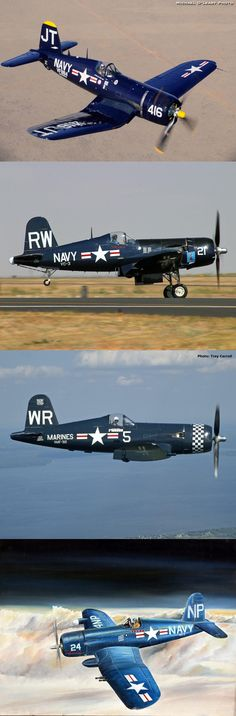 WW II Aircraft Aluminum Nose Art!   F4U Corsair F4U-1A Big Hog http://aircraftaluminumart.com/big-hog-f4u-1a/
