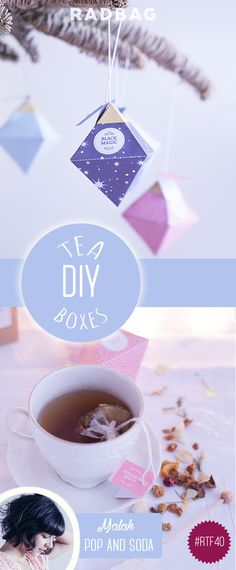 DIY Tea Box printable