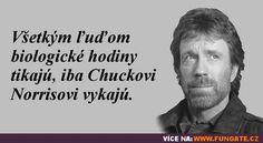 Všem lidem biologické hodiny tikají… Good Jokes, Funny Jokes, Chuck Norris, Humor, Carpe Diem, Writings, Relax, Wisdom, Lol