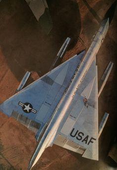 Convair B-58 Hustler from overhead.