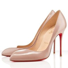 Christian Louboutin Corneille 100mm Escarpins Nude 77,99 €