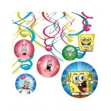 SpongeBob Swirl Decorations=> ₦2,546.13
