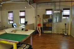 The video shoot space. Many of our mockup templates have been shot right here and many of the Go Media employees have been models for these shoots.