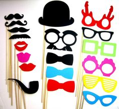 Photo Props  19 Piece Perfect Birthdays Weddings by PropsOnSticks, $22.00