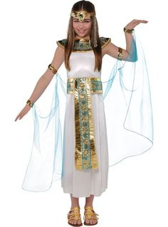 Girls Shimmer Cleopatra Costume - Party City