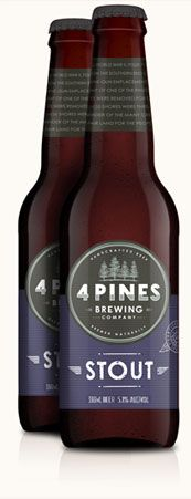 It's a refreshing stout - 4 Pines: http://www.4pinesbeer.com.au/beers/stout#