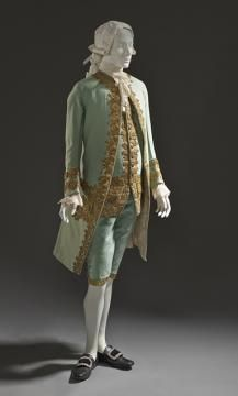 Man's Suit  France c. 1760. From the collections of Los Angeles County Museum of Art.