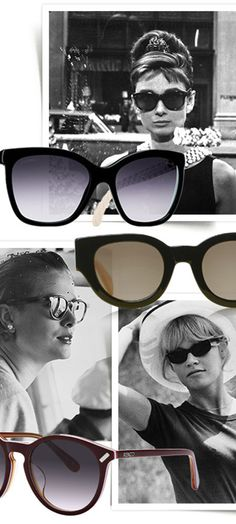 iconic sun glasses..