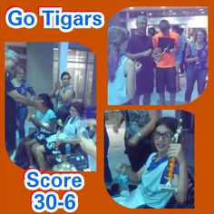 Great last game her team won again 30-6. Next game is the Championships! :) xo  #Wellingtonsportscomplex,#Tigers,#Basketball,#GoKristin