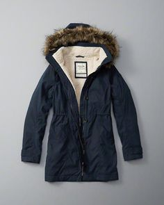 ANF Sherpa Lined Parka