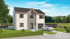 Maisons vesta mod le bahamas f6 111m garage for Modele maison vesta