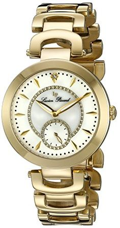 Women's Wrist Watches - Lucien Piccard Womens LP10268YG22 Casablanca Analog Display Quartz Gold Watch * Learn more by visiting the image link.