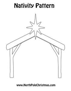 Pin by muse printables on printable patterns at for Nativity cut out patterns wood