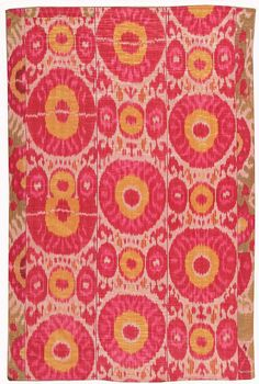 View this beautiful Ikat Uzbek textile 44613 from Nazmiyal's fine antique rugs and decorative carpet collection.