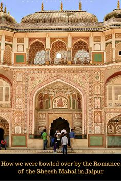 Sheesh Mahal at Amer Fort, Jaipur, Rajasthan, India | Amer Fort | Rajasthan | India | Incredible India | Heritage | History | Art | Amer Fort, Jaipur | Paintings | Architecture | Fort | Carvings | Family Travel