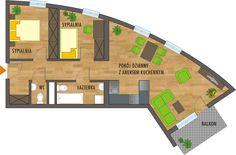 nowe mieszkania w katowicach Nasa, Floor Plans, Google, Facades, Fotografia, Facade, Floor Plan Drawing, House Floor Plans