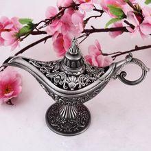Conto de fadas Gênio Da Lâmpada Aladdin Lâmpada Mágica Bule de Chá Do Vintage…
