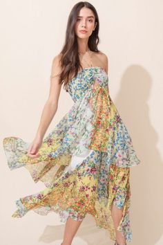 0ca8d99be9457 55 Best Whimsical Spring Florals images in 2018   Whimsical dress ...