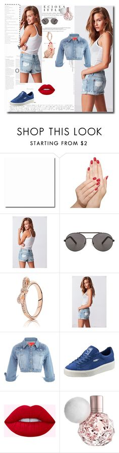 """'' Runway Trend ''"" by aldina-dinka ❤ liked on Polyvore featuring Piggy Paint, BDG, Seafolly, Puma and Agent Provocateur"