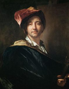 [Baroque] Hyacinthe Rigaud, Self Portrait with a Turban