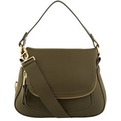 ca658866146 TOM FORD Medium Jennifer Leather Shoulder Bag ( 2