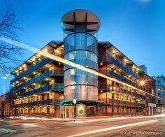 Murray Grove: Pioneering modular offisite construction by Cartwright Pickard  & Yorkon - still looks great in 2013 | UK