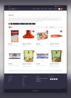 Seafood Restaurant Responsive Shopify Theme E-commerce Templates, Shopify Themes, Food & Restaurant