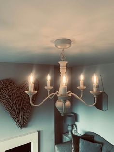 Review photo 1 Single Bedroom, White Ceiling, Candelabra, Cleaning Wipes, Chandelier, Bulb, Ceiling Lights, Candles, Elegant