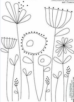 Simple Embroidery Designs, Hand Embroidery Patterns Free, Embroidery Stitches Tutorial, Embroidery Flowers Pattern, Crewel Embroidery, Vintage Embroidery, Machine Embroidery Designs, Embroidery Ideas, Knitting Patterns