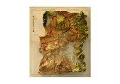 Scott Reinhard Maps Yellowstone National Park - Gearhungry
