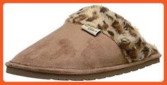 Western Chief Women Plush Slip-on Comfort Outdoor Slipper, Cheetah Scuff, 9 M US - Mules and clogs for women (*Amazon Partner-Link)