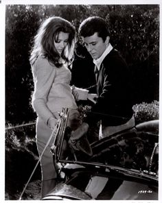 """Pamela Tiffin/James Darren """"The Lively Set"""" 1964 Vintage Still Pamela Tiffin, James Darren, Doug Mcclure, Billy Wilder, Sandra Dee, Classically Trained, My First Crush, Iconic Movies, The Good Old Days"""