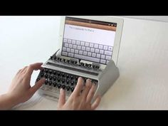 Awesome retro keyboard created for iPad