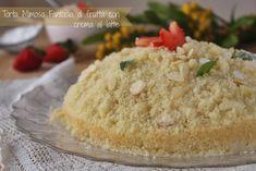 Torta Mimosa Fantasia di frutta con crema al latte   Status mamma