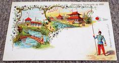 Japan - Paris Exposition Universelle - Undivided Back 1900 World Fair Postcard World's Fair, Postcards, Japan, Paris, Antiques, Painting, Antiquities, Montmartre Paris, Antique