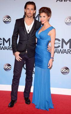 Love this dress, cobalt blue = my favorite color!! Buchanan.Owen-CMAAwards.jpg