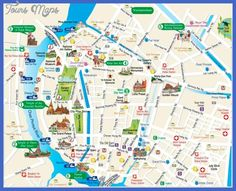 cool Bangkok Subway Map