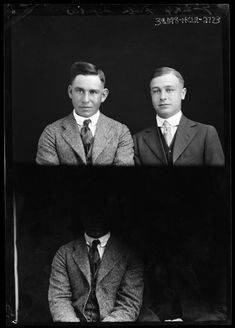 Photograph of 2 people.  Courtesy of the River Valley Pioneer Museum.