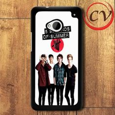5sos Five Seconds Of Summer HTC One M7 Black Case