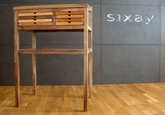 standing desk SIXtematic by sixay - premium solid wood design furniture